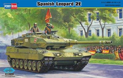 Hobby Boss 1/35 82432 Spanish Leopard 2E Model Kit/Maquette THD77