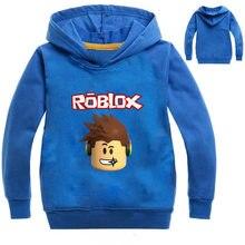 ec106a030 ROBLOX Hoodies Kids Sweatshirts Fashion Kids Sweatshirts Clothes Baby  Toddler Girls Coat Kids Clothes Boys Shirt Sportswear 10Y