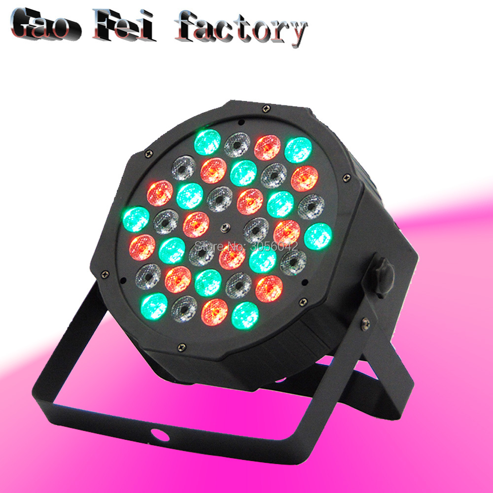 36X3W RGB LED DJ Stage Lighting Par Light With DMX512 For Disco DJ Projector Machine Party Decoration