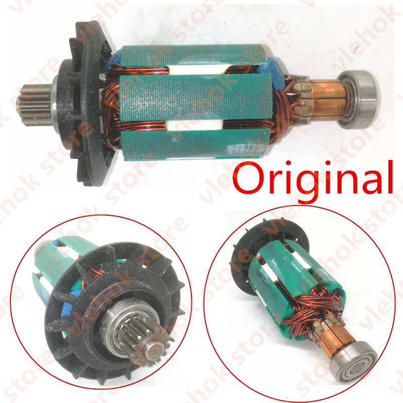 Original Armature Rotor 18V for Hitachi 360975 DS18DSDL Cordless Drill Power Tool Accessories Electric tools part Original Armature Rotor 18V for Hitachi 360975 DS18DSDL Cordless Drill Power Tool Accessories Electric tools part