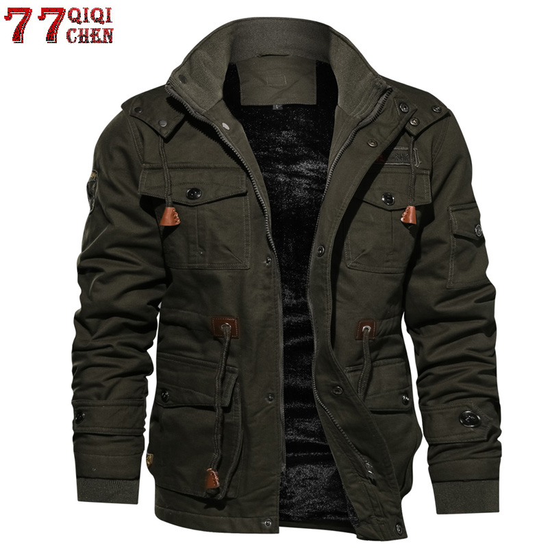 Autumn Men Embroidery Baseball Jacket Cartoon Comics Pilot Flight Jacket Hooded Youth Couples Coat Chinese Style