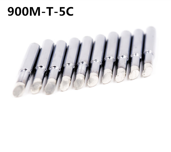 SZBFT 10 Piece Lead-free Replaceable 900M-T-5C Soldering Iron Tips  For Soldering Station Free Shipping