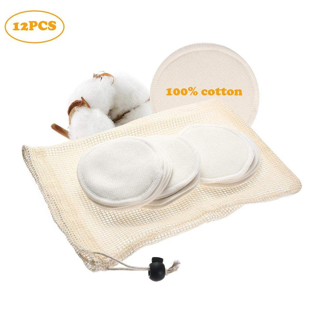Reusable Make Up Cotton Pad Free Washable Makeup Remover Cotton Pad For Sensitive Skin Daily Cosmetics
