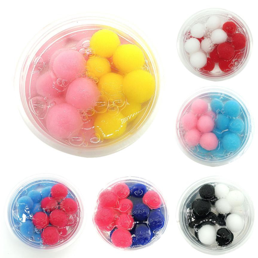 Mixing Coconut Fruit Cloud Child Intelligent Magic Slime Scented Stress Relief Kids Clay Putty Toys Crystal Clay Toy antistress