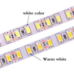 Image 4 - 120 leds/m 5 m 5630 led luz de tira 12 v dc flexível led luz 600led 300led pixel fita não impermeável led lâmpada de natal