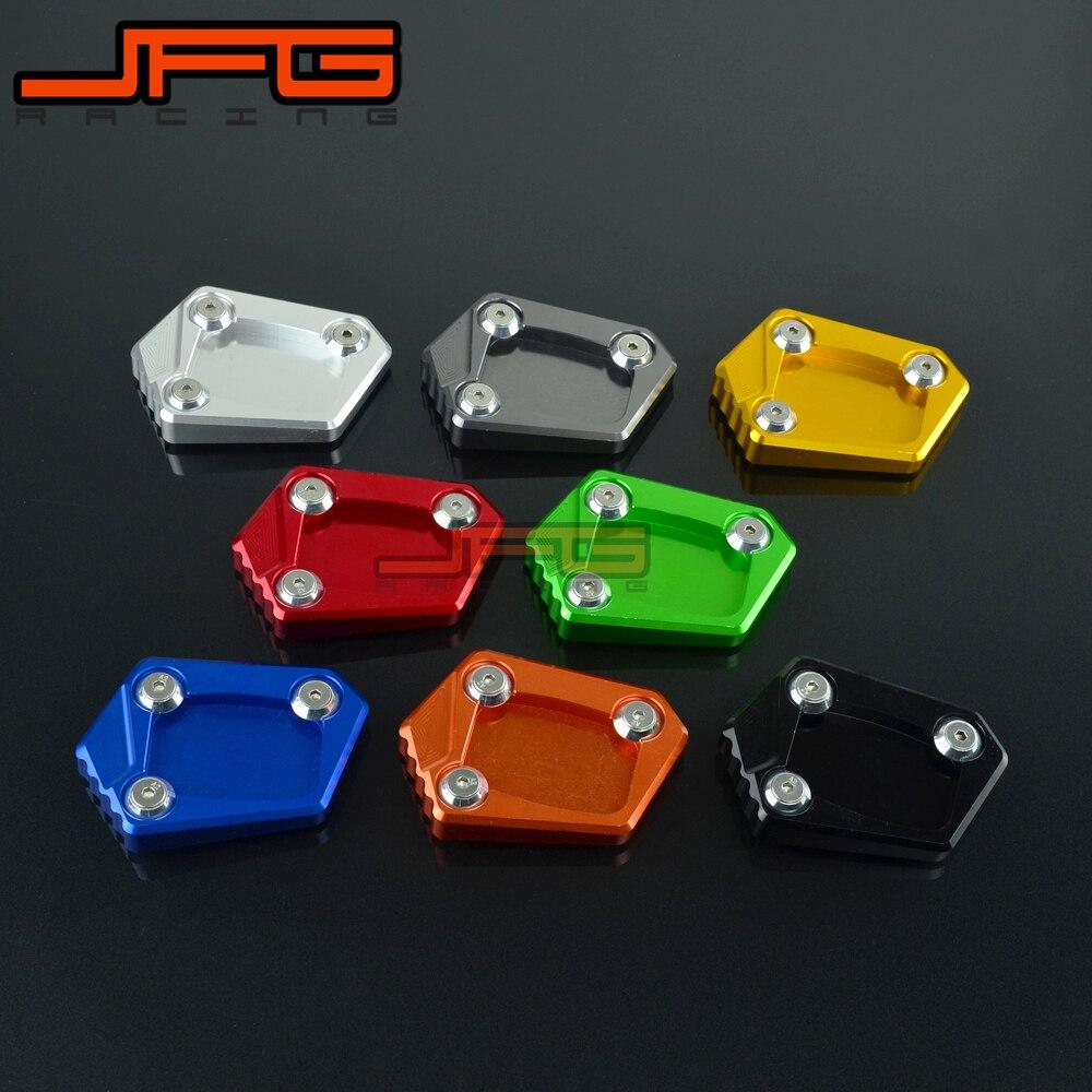 Kick Fuss Seitenstander Erweiterung Pad Unterstutzung Platte Fur HONDA CBR500R CB500F CB500X CB500 NC700 NC700S NC700X NC700D Integra