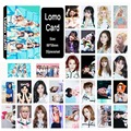 Youpop KPOP TWICE Album LOMO Cards K-POP New Fashion Self Made Paper Photo Card HD Photocard LK393