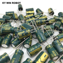 20pcs 220uF 35V 105C Electrolytic Capacitor 35V 220UF 8x12mm Aluminum Electrolytic Capacitor jiahui 35v 470uf electrolytic capacitor for diy project silver black 150 pcs