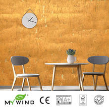 3D Wallpaper In Roll home Decor 2019 MY WIND Gold HOT Luxury Decoration Wallpapers 100% Natural Material Safety Innocuity