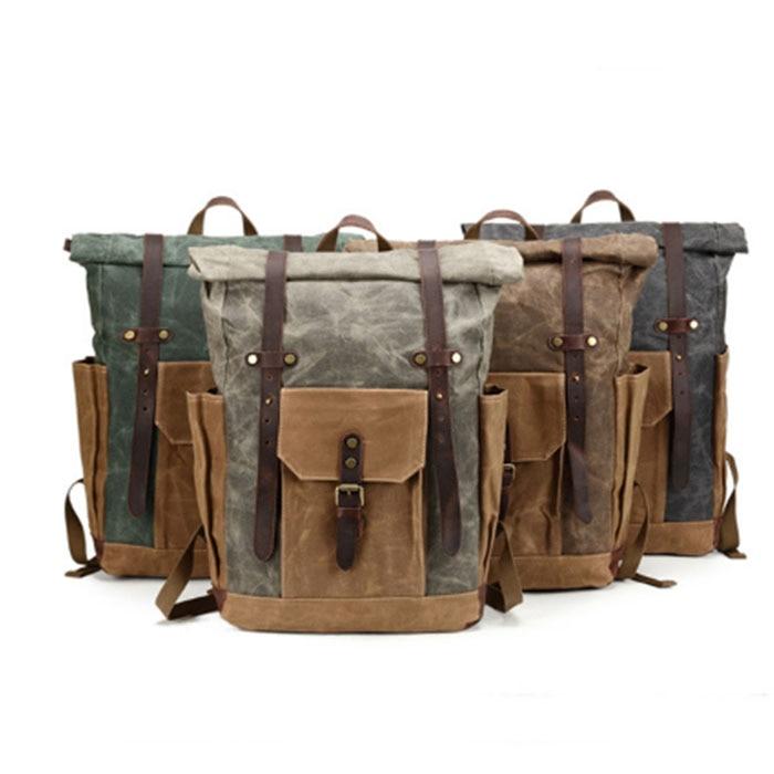 Casual Canvas Men Backpack Retro Vintage Male Students backpacks School Bags Man Shoulder Bags mochila masculina black/gret/red цена