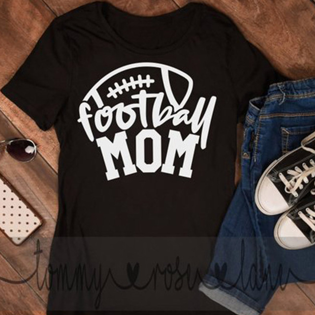 elegant shoes complete in specifications pretty and colorful US $7.89 35% OFF|Women T shirt Letter Print Football Mom Printing Short  Sleeve Graphic Tees Shirt Womens Tee Tshirts Graphic Tees T Shirt Women-in  ...