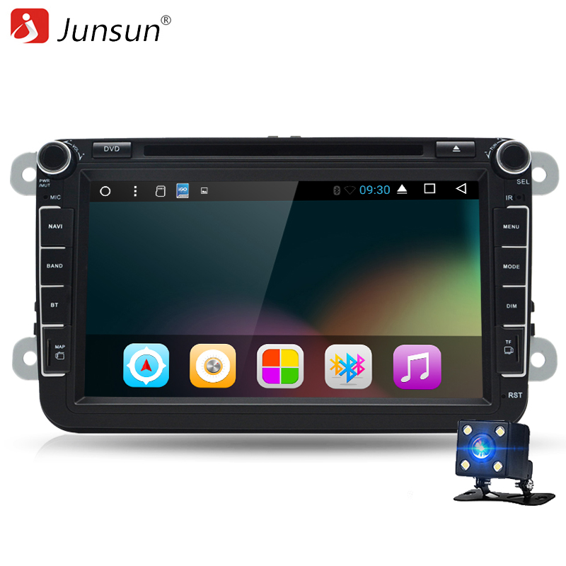 Junsun T38 Quad Core 8 2 Din Android 6 0 Car DVD Player 2GB RAM Radio