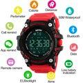 SKMEI Men Smart Watch Pedometer Calories Bluetooth Watch Fashion Outdoor Sports Watches 50M Waterproof Digital Wristwatches 1227