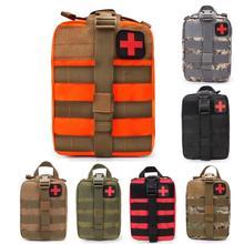 חיצוני ספורט צריך העפלה רוק טיפוס מצילי חיים תיק טקטי רפואי Wild הישרדות חירום קיט