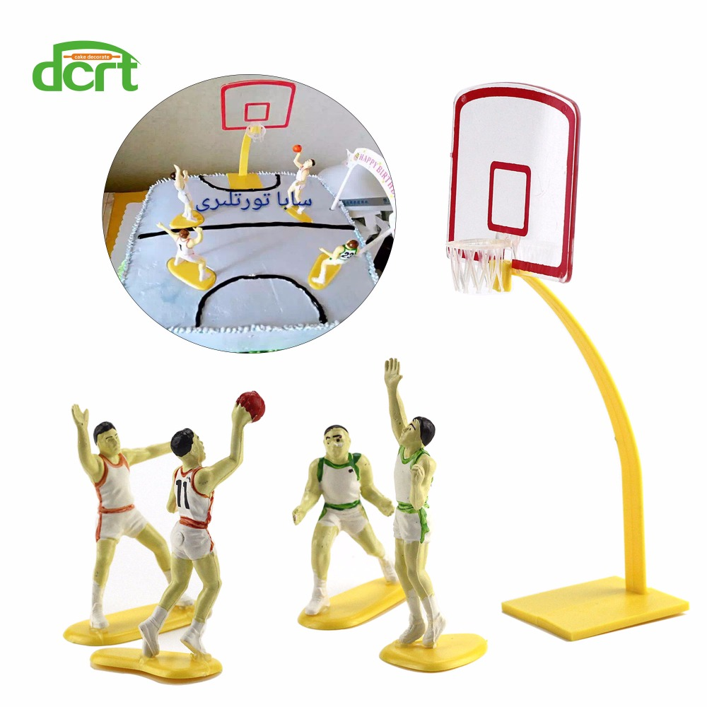 Wedding & Anniversary Bands Alert 35pcs Cake Topper Creative Basketball Soccer Baseball Cake Flag Cake Decoration For Birthday Party