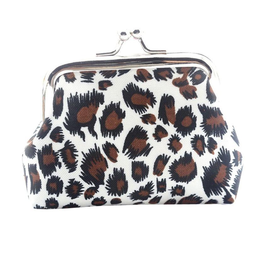 XINIU Small Wallet Purse Retro Vintage Hasp Clutch-Bag Monederos Leopard Girls Women