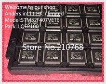 50 unids/lote STM32F407VET6TR STM32F407VET6 STM32F407 LQFP100