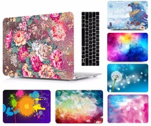 Laptop Pattern Protective Hard Shell Case Keyboard Cover Skin For 11 12 13 15 Apple Macbook Air Pro Retina Touch Bar MAC BOOK
