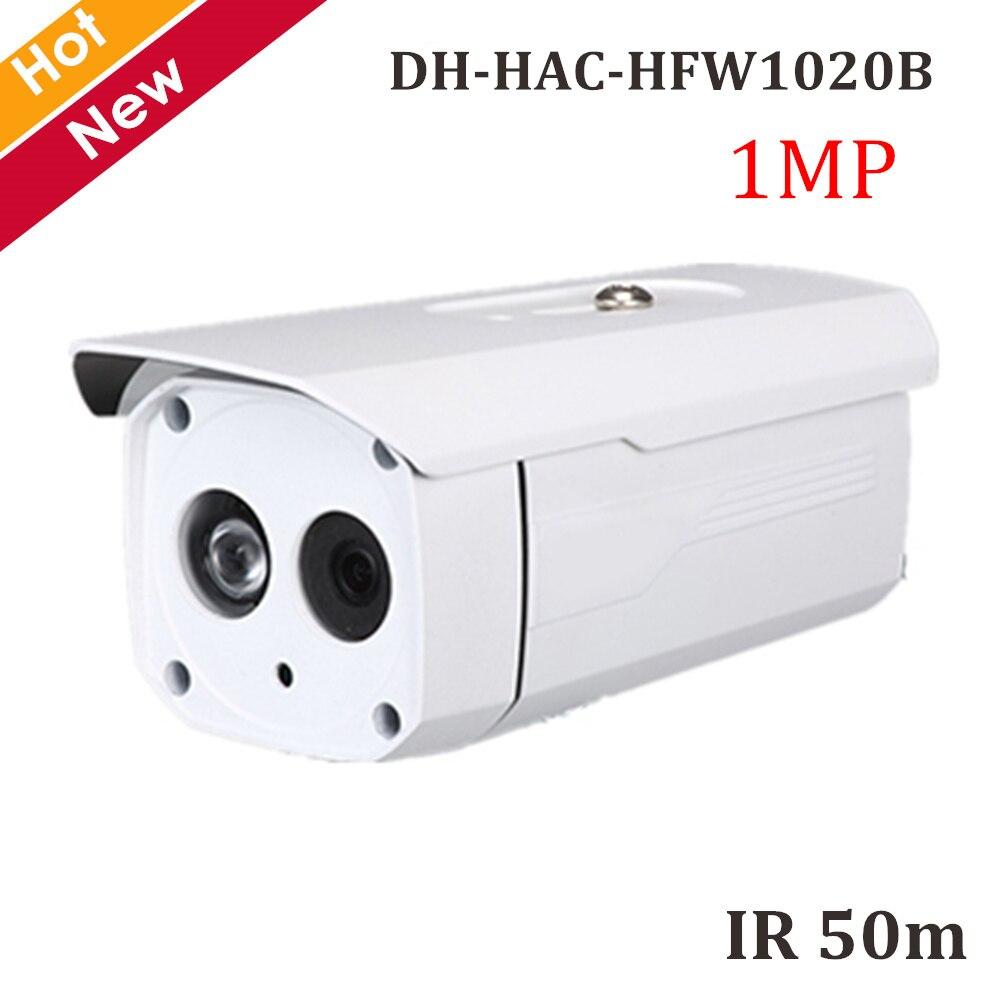 DH HDCVI Camera 1MP HAC-HFW1020B Coaxial Camera IR 50m Security camera CCTV Cam 720p Coaxial CameraDH HDCVI Camera 1MP HAC-HFW1020B Coaxial Camera IR 50m Security camera CCTV Cam 720p Coaxial Camera