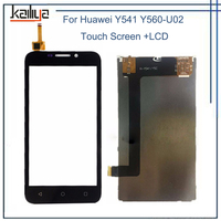 White LCD Display Panel Screen For Huawei Y541 4 5 Touch Screen Digitizer Glass Sensor Assembly