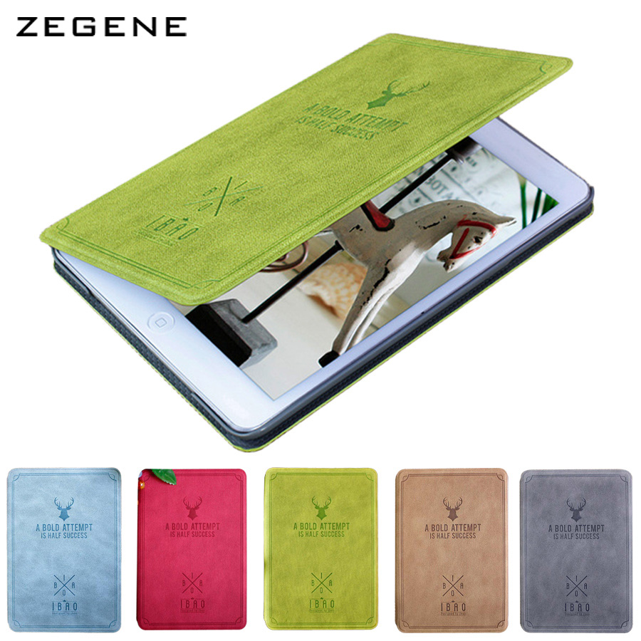 PU Leather Case for iPad mini 4 Tablets Accessories Cover for apple Stand Display shell Fashion Retro