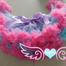 Юбка для девочек; очень пышная детская юбка; ярко-розовая и Черная мягкая балетная юбка-пачка; детская Пышная юбка-американка;