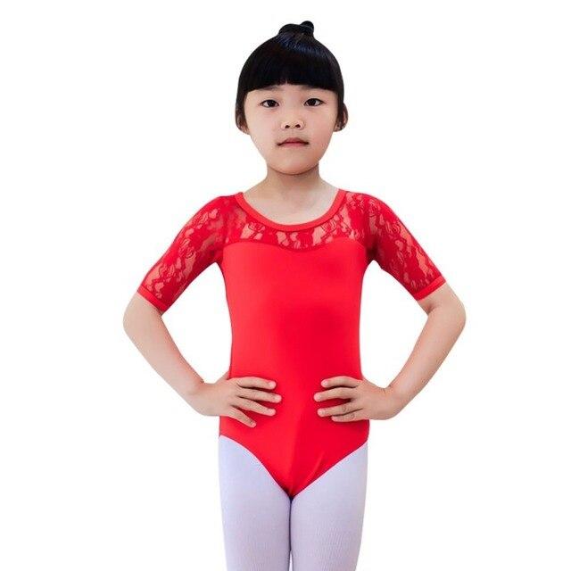 81c1e8926d93 Hot Leotards Costume Kid Ballet Tutu Girls Child Lace Tutu Strap ...