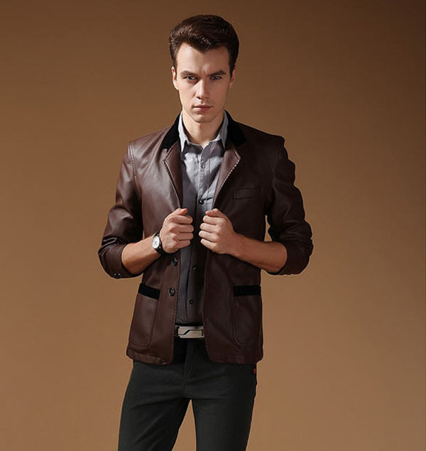 Online Get Cheap Men's Brown Blazer -Aliexpress.com   Alibaba ...