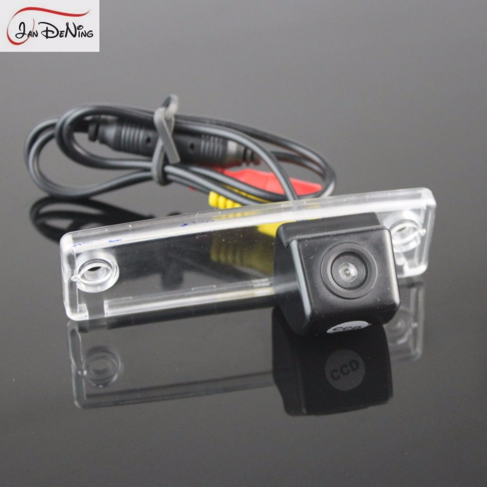 hight resolution of jandening ccd car rear view parking backup reverse camera license plate light oem for
