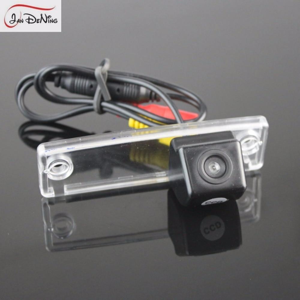 medium resolution of jandening ccd car rear view parking backup reverse camera license plate light oem for