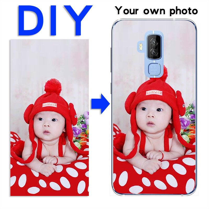 DIY custom design name Customize printing your photo picture phone Soft silicone case For Homtom S8 Pro pattern images cases