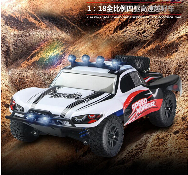 2016 hot sell 1/16 RC Off-road vehicle car 2.4Ghz RC Remote Control high speed 50KG/H Truck Car 4WD RC Climbing Short Course RTF hsp rc car 1 10 electric power remote control car 94601pro 4wd off road short course truck rtr similar redcat himoto racing