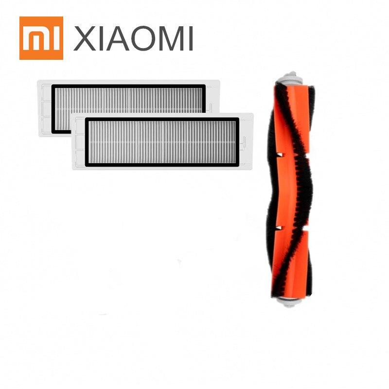 все цены на Robot Vacuum Cleaner Part HEPA filter X2PCS, main brush X1PCS for Xiaomi mijia /xiaomi roborock s50 roborock 2