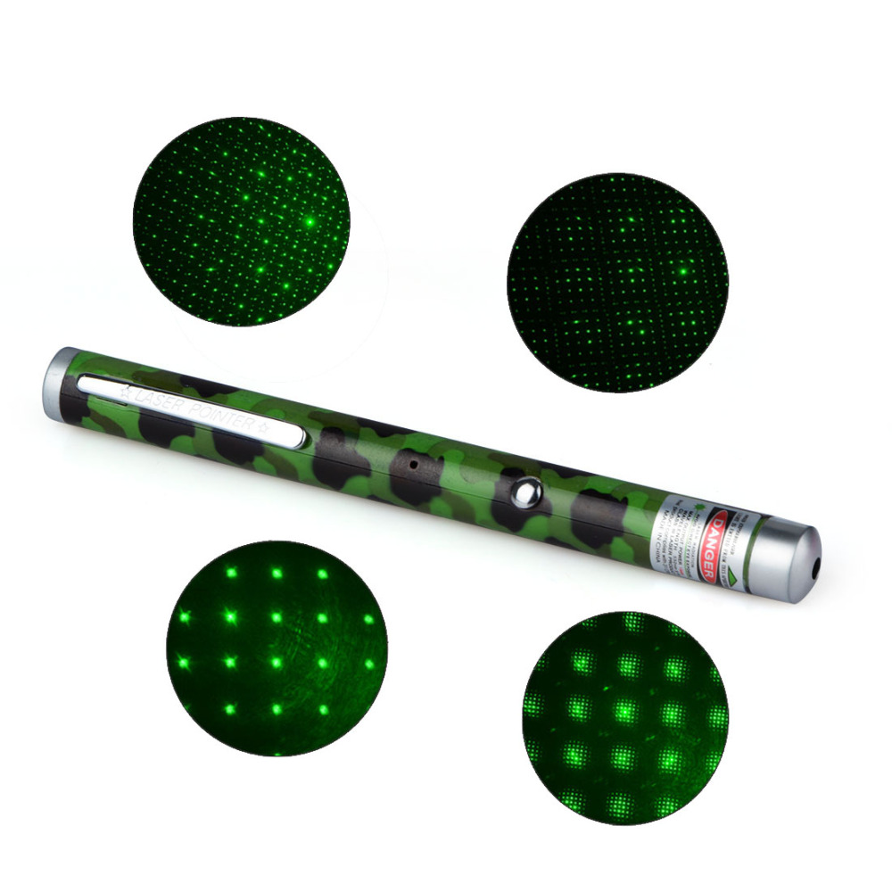 1 Piece Rechargable Green Color 532NM-405NM 5MW Beam Point Laser Pointers Pen USB Charging Laser Pens P0.11