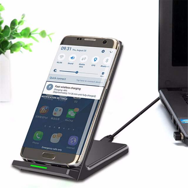 online store 118c3 19775 US $24.88 |QI Support fast charging 10w android wireless charger apple  power bank For iphone 6 7 8 x abs charger mobile phone charger-in Wireless  ...