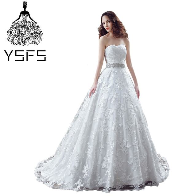 Aliexpress.com : Buy YSFS In Stock 100% Real Picture Elegant Wedding ...