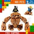 469 шт. Новый Super Heroes Бэтмен 07050 Clayface Splat Нападение DIY Модель Строительство Комплект Блоков Подарки Фильм Игрушки Совместимо с Lego
