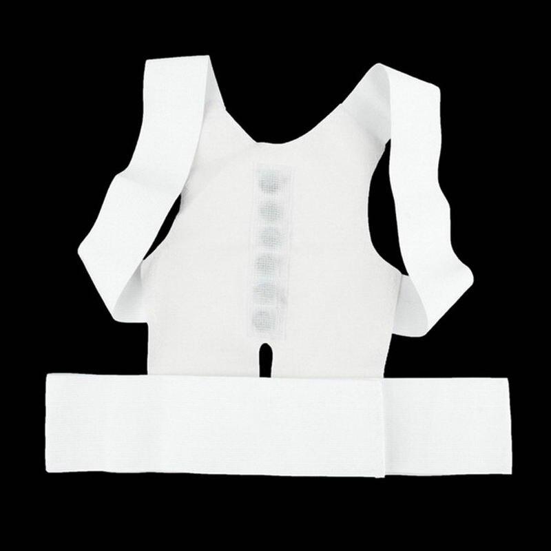 Adjustable Magnetic Posture Back Pain Feel Shoulder Corrector Support Brace Belt