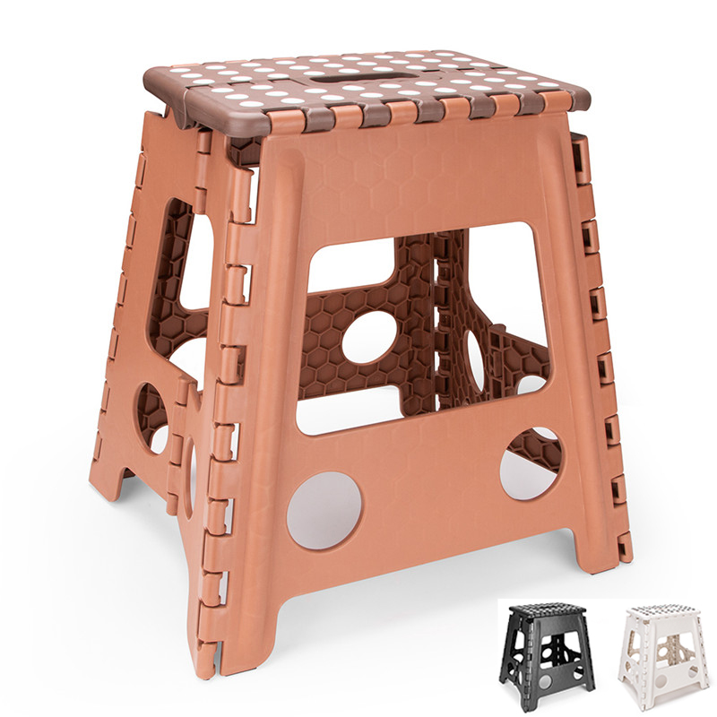 US $9.99 30% OFF|15inch Folding Plastic Chair Foot Step Stool Kitchen  Garden Bathroom Toilet Stool Outdoor Portable Hiking Chair Kids  Furniture-in ...