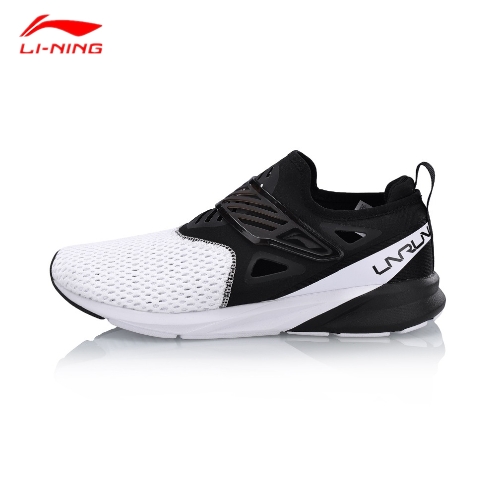 Li-Ning COLOR ZONE Men's Running Shoes Cushion Light Breathable Sneakers Fitness Sports Shoes ARHN073 li ning comfort women color zone running shoes cushion breathable wearable ln sports shoes light weight sneakers arhn086 z029