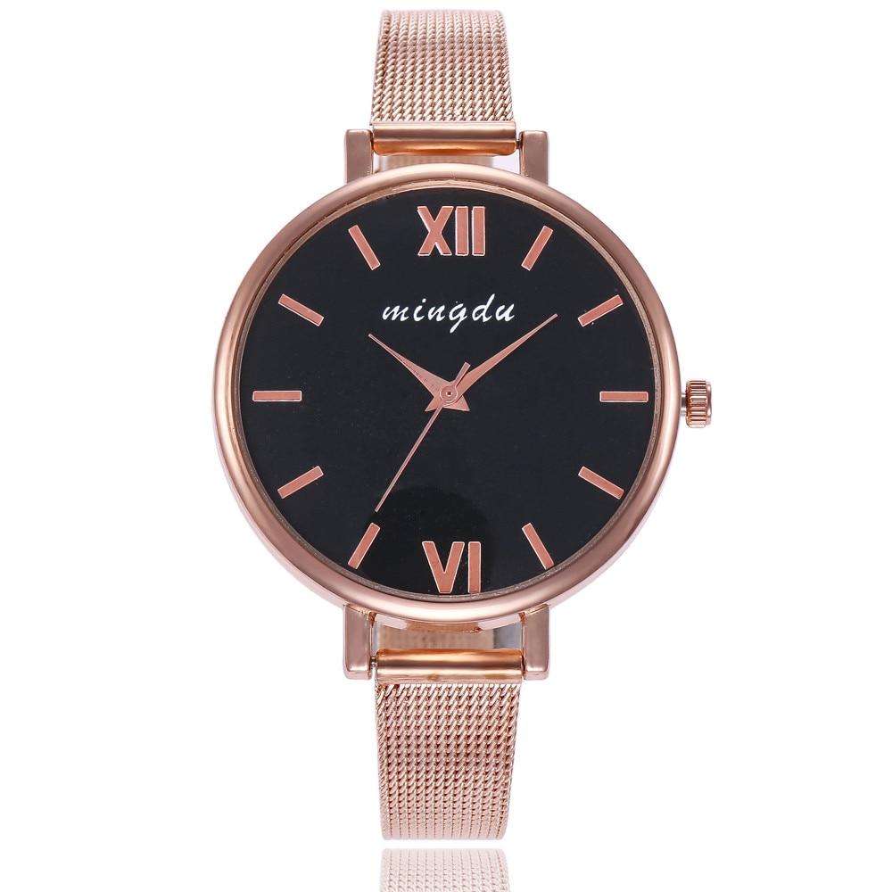 Women watches Pattern luxury Simple Geneva Fashion Women Small Steel Band Analog Quartz Wrist Watch Watches new #xqx