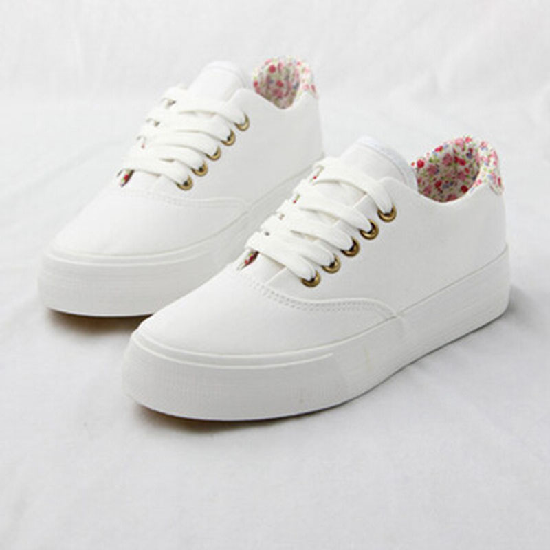 Floral Canvas Shoes Men