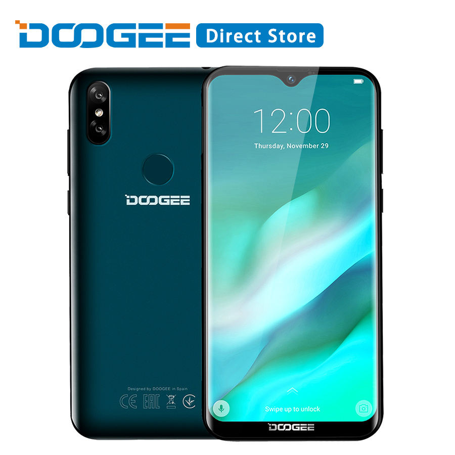 DOOGEE Y8 3GB RAM 16GB ROM Android 8 1 Smartphone 6 1 FHD 19 9 Display