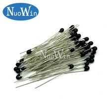 100 шт. NTC-MF52AT MF52AT MF52 3950 1% 10K ohm NTC термистор, Температурный датчик, терморезистор
