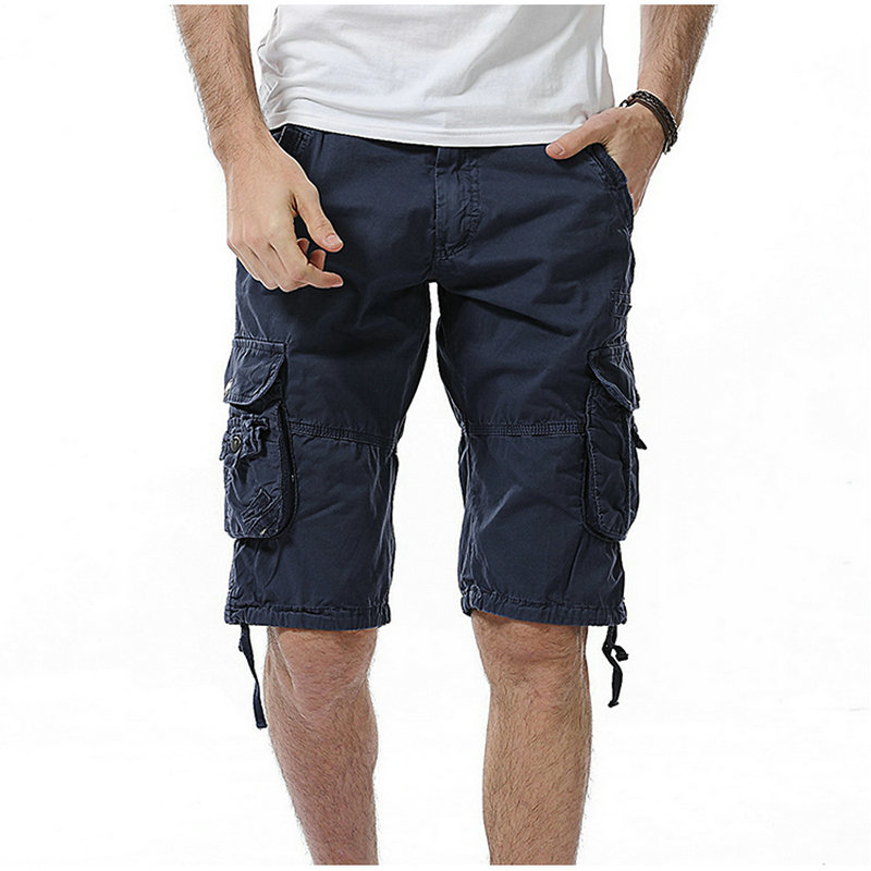 2020 New Hot Summer Casual Shorts Men Cotton Slim Camouflage Mens Cargo Shorts Bermuda Masculina