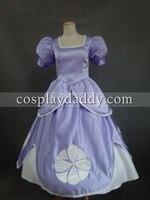 Принцесса София первая Софии платье Карнавальный Костюм Роскошные платье в стиле «Лолита» Фэнтези костюмы на Хэллоуин для девочек женщин и