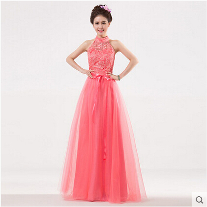 Plus size 6 Colors Pink White ChampangeFloor length Ball Gown ...