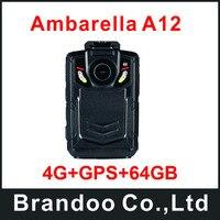4 г + GPS + 64 ГБ Best полиции Средства ухода за кожей носить камер, используемых для полиции человек