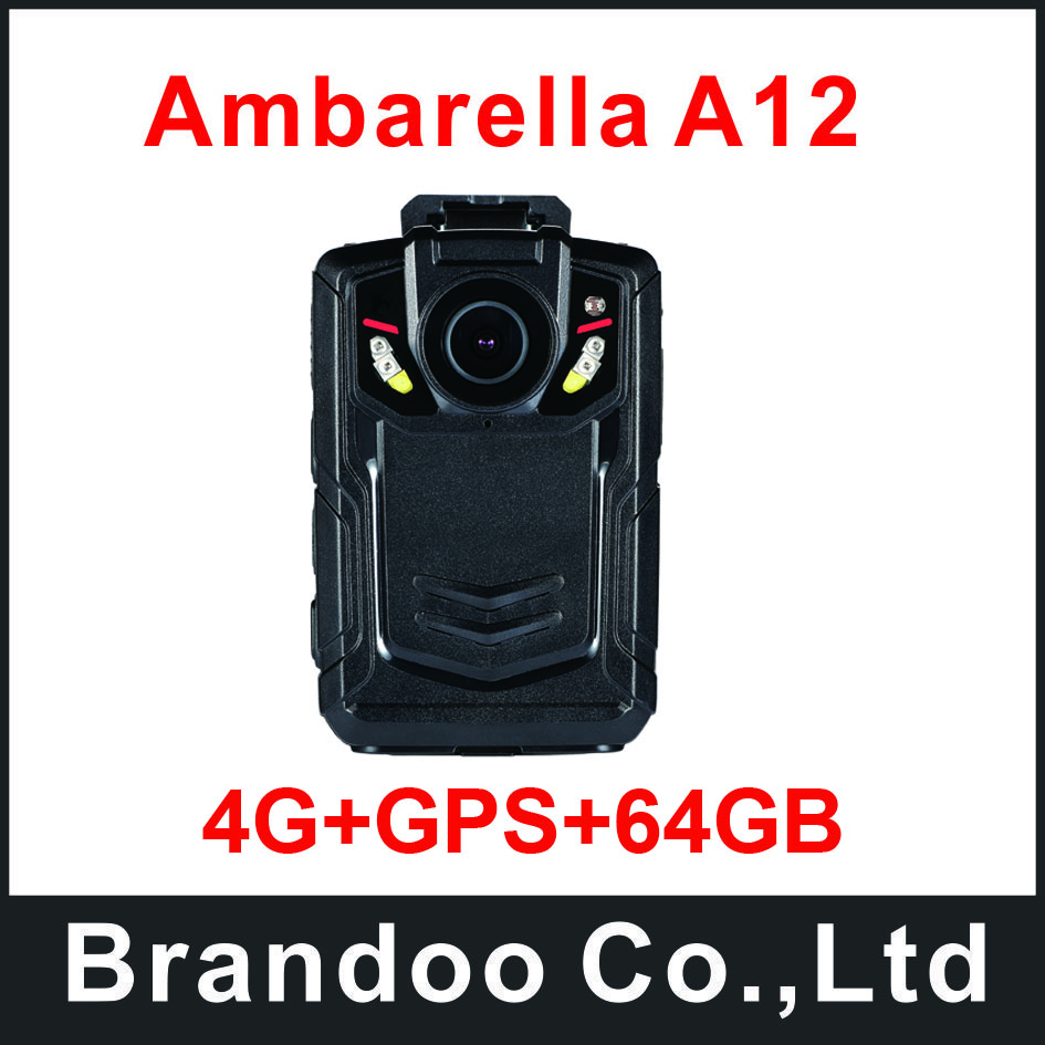 4G+GPS+64GB Best Police Body Worn Cameras Used For Police Man