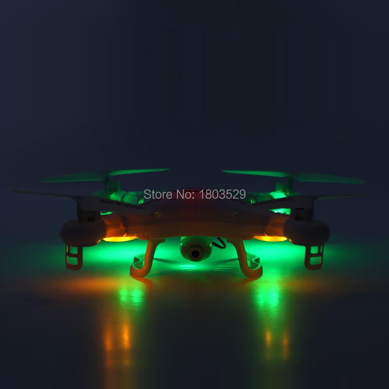 Free Shipping H5 H5-A H5C H5C-A 4 CH 2.4G 2MP Camera LCD RC Quadcopter FPV Drone RTF 200W 360 Flips 3D 6 Axis Gyro Explorer Toys